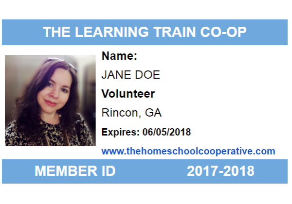 Jane Doe ID Card